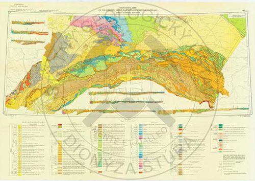 Geological map Carpathians