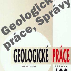 Geologické práce Správy
