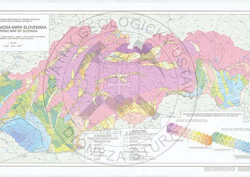 Neotektonicka mapa SR
