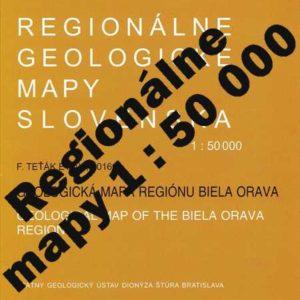Regionálne mapy v mierke 1 : 50 000