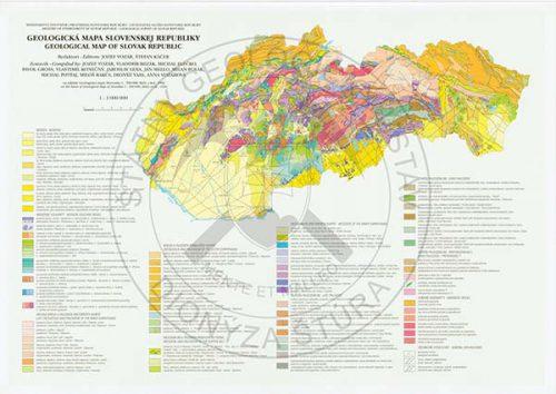 SR geol mapa