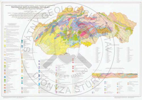Tektonicka mapa SR